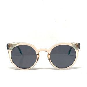 Komono Sunglasses Peach & Turquoise
